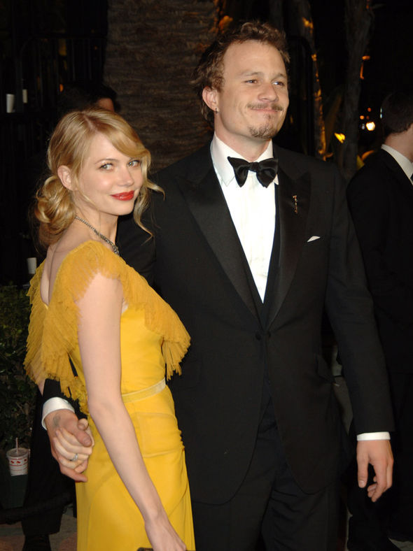 Heath Ledger Michelle Williams