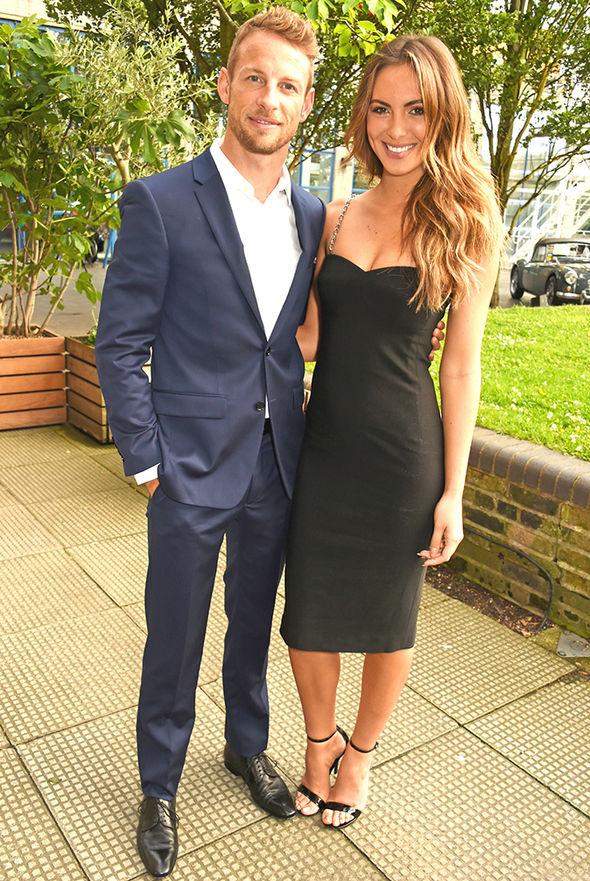 Jenson Button girlfriend Brittny Ward Instagram cleavage swimsuit bikini