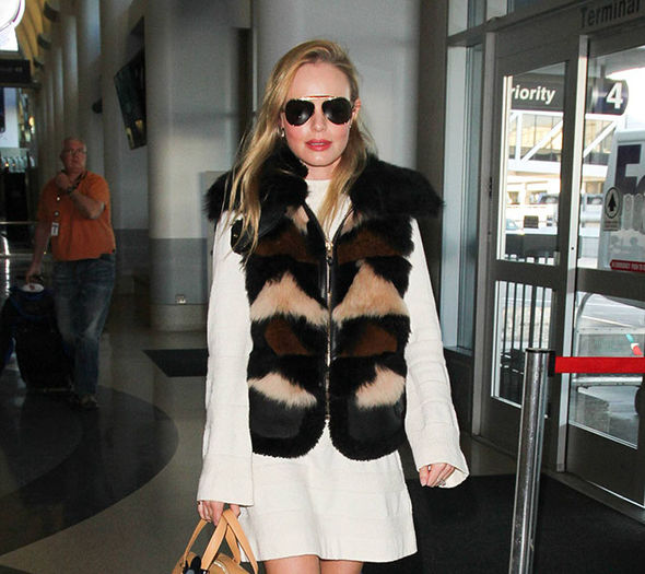 Kate Bosworth arrives in London for premiere