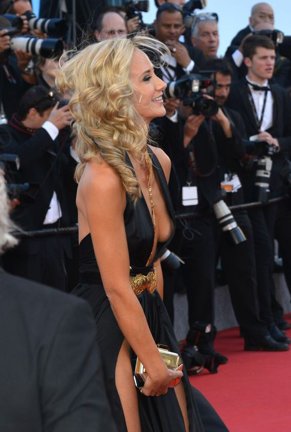 Lady Victoria Hervey Flashes Knickers In Revealing Dress