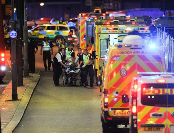 London Bridge attack Katie Price