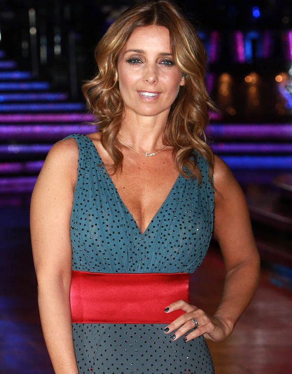 Louise Redknapp at the Strictly Come Dancing tour