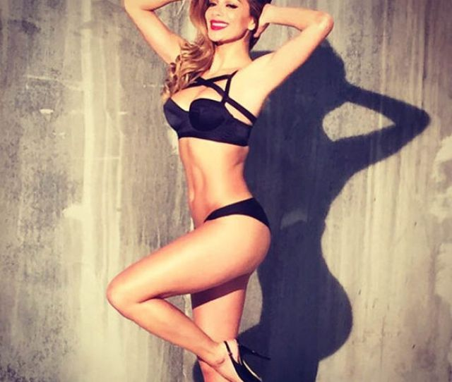 Nicole Scherzinger In Underwear