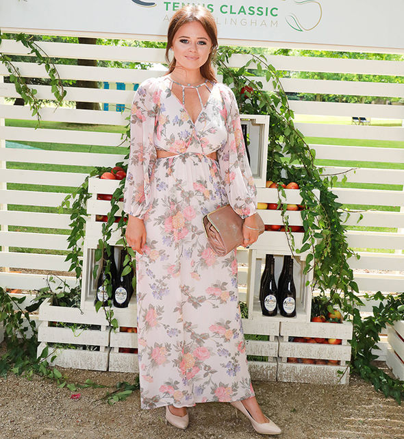 Poldark season 3 cast Eleanor Tomlinson Demelza legs dress Wimbledon