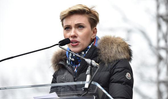 Scarlett Johansson Women's March