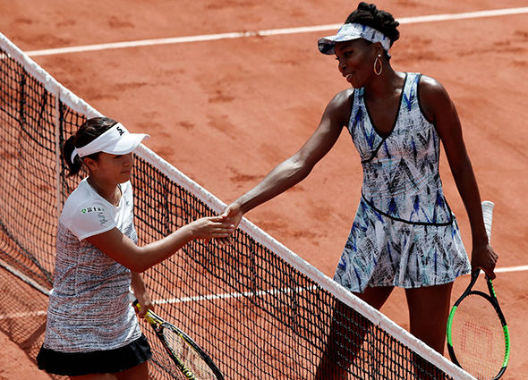 Serena Williams Venus Williams French Open 2017 baby girl sex
