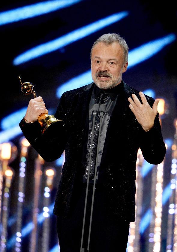 Graham Norton took home an award on the night