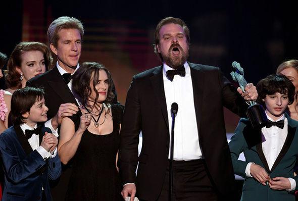 Stranger Things cast SAG Awards