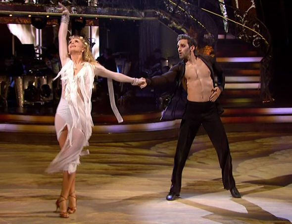 Strictly Come Dancing 2017 Davood Ghadami Nadiya Pride of Britain 2017 chemistry