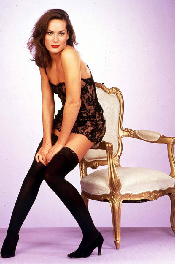 Tara Palmer-Tomkinson in a modelling shoot