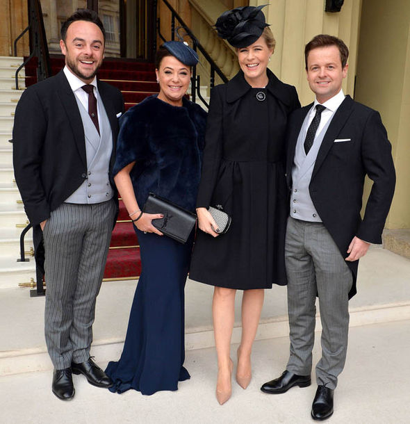 ant and dec wives