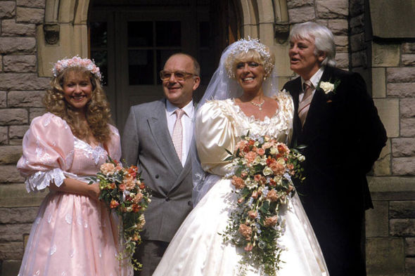 Roy's character Alec married Bet Lynch during his time on Coronation Street