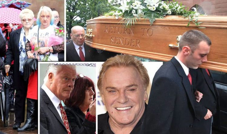 1140009 Freddie Starr funeral: Derek Acorah joins fans mourning death of comedian in Liverpool