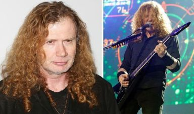 Dave Mustaine: Megadeth frontman, 57, reveals throat cancer diagnosis as band cancel shows