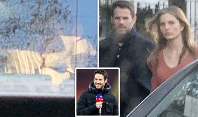 Jamie Redknapp seen kissing girlfriend Frida Andersson-Lourie in rare appearance together