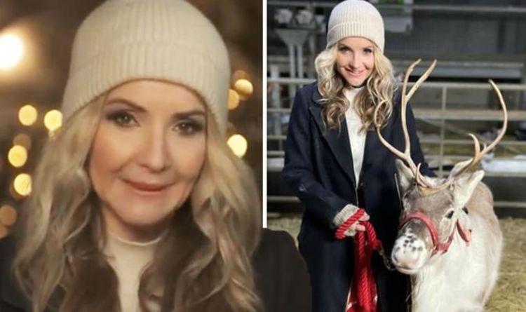 Helen Skelton warned she 'narrowly avoided injury' in reindeer clash 'Look it in the eye'