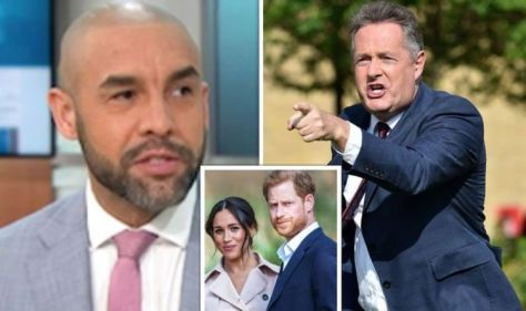 Piers Morgan rows with GMB co-star as he calls for 'ban' on UK princes marrying US women