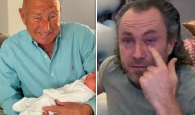 James Jordan in moving update on unwell dad days after tearful TV appearance