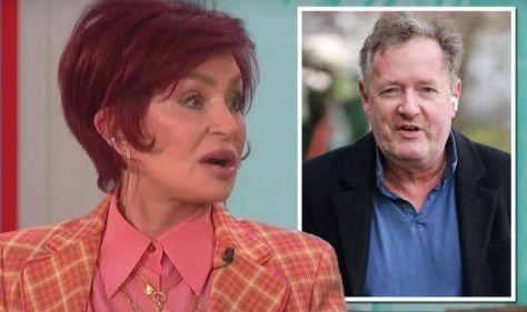 Sharon Osbourne breaks down in tears in TV debate about Piers Morgan's exit from GMB