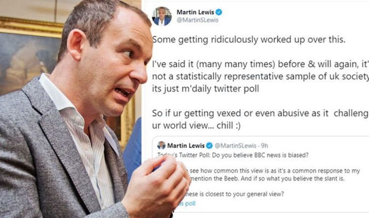 Martin Lewis responds after fans get 'ridiculously worked up' over BBC bias poll 'Chill!'