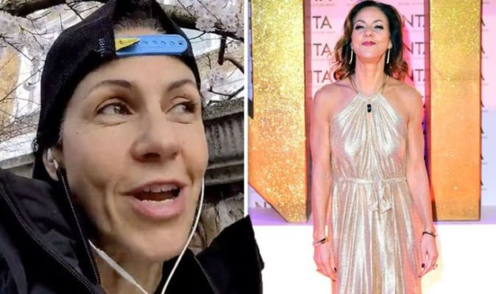 Julia Bradbury hits back as viewer brands her outfit 'b****y stupid': 'You're 50 not 15!'