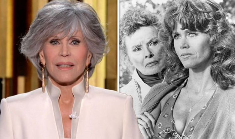 Jane Fonda says 'competitive' Katharine Hepburn 'didn't like' her amid Oscars rivalry
