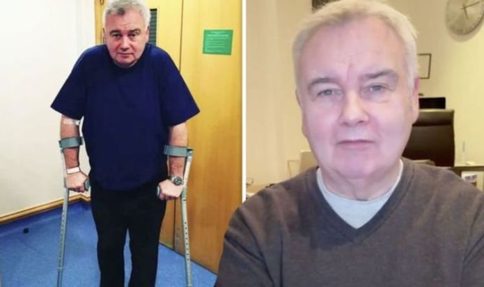 Eamonn Holmes shares heartache over painful health battle: 'I'm determined to beat this'