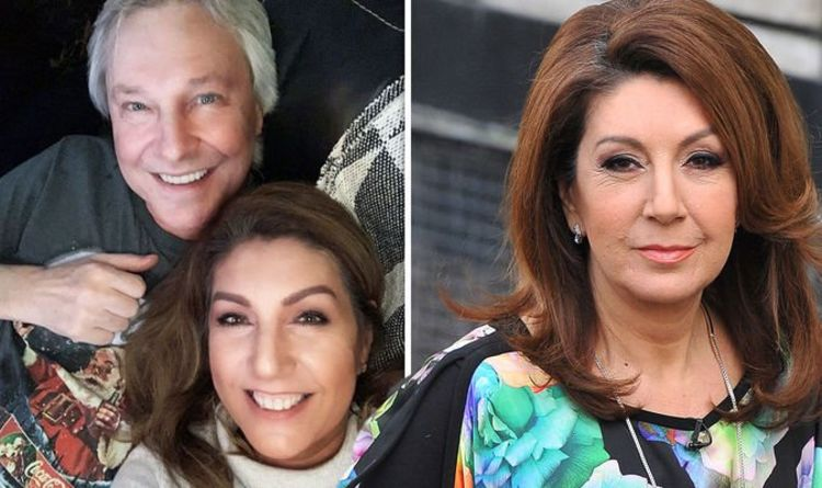 Jane McDonald inundated with support as she posts fundraising page in tribute to fiancé Ed