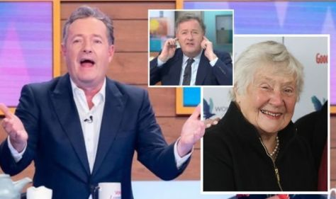 Piers Morgan furiously backed against 'disgraceful' remarks under Shirley Williams eulogy