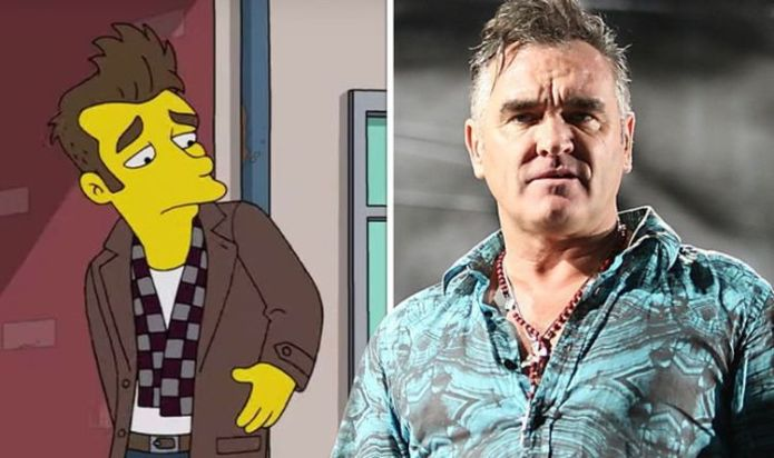 Morrissey blasts The Simpsons for 'ignorance' over parody 'Free speech no longer exists'
