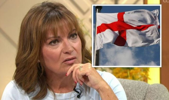 Lorraine Kelly blasts viewer over claim she ignored St George's Day on show: 'Spiteful!'