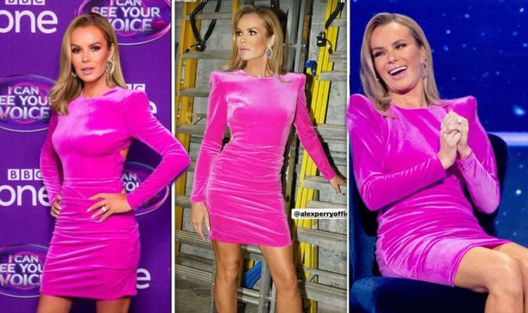 Amanda Holden: I Can See Your Voice star, 50, puts legs centre-stage in skintight dress