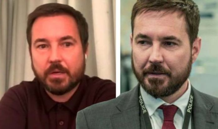 Martin Compston endured 'miserable' time in lead up to Line of Duty 6 due to weight gain