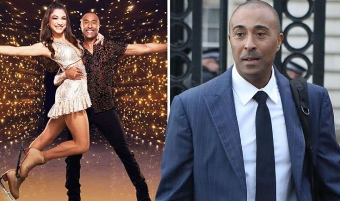Colin Jackson almost had to quit Dancing on Ice due to health issue 'My skin was on fire!'