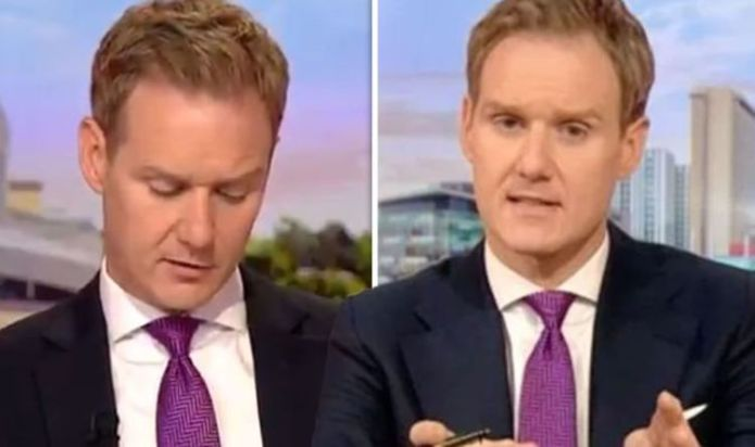 Dan Walker given marching orders from wife after BBC host's Euro error 'Go somewhere else'