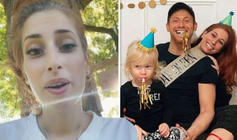Stacey Solomon rushes youngest son Rex to hospital after 'nightmare' accident