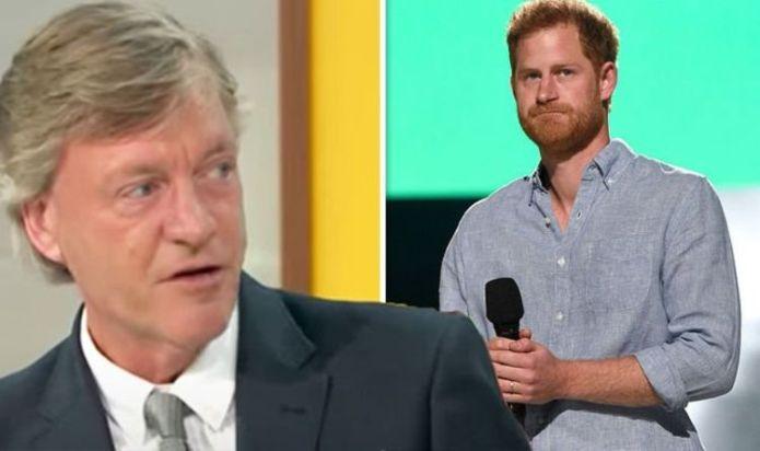 'I think Prince Harry's lost the plot' Richard Madeley blasts Duke's royal life complaints