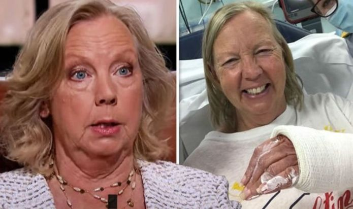 Dragons' Den star Deborah Meaden slams critics after sparking concern from hospital bed