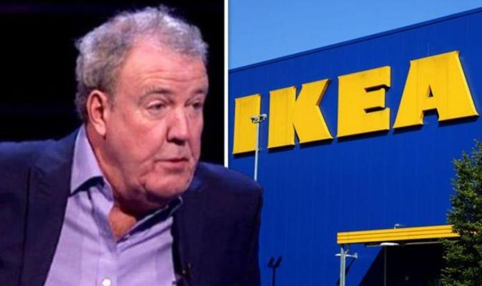 Jeremy Clarkson unleashes fury on 'halfwits' as he vows to boycott IKEA amid GB News row