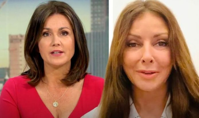 Carol Vorderman and Susanna Reid join forces for moving Pride Of Britain video
