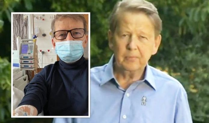 Bill Turnbull inundated with support amid rare photo in hospital 'Can I get out of here?'