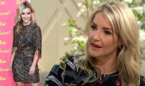 Helen Skelton hits out at backlash from viewers over her short skirts 'I don't have time!'