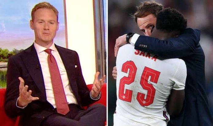 'Get educated!' Dan Walker slams culprits who sent players racial abuse after Euro defeat