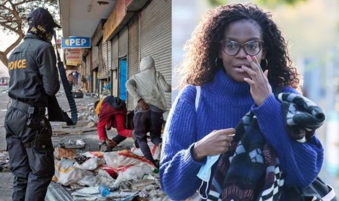 Oti Mabuse inundated with support as she fears for parents amid South Africa riots