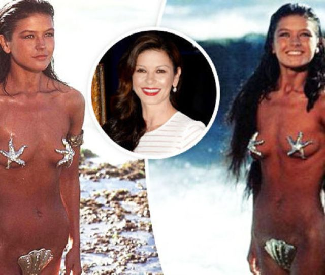 Catherine Zeta Jones Flashes Bare Breasts As She Strips Naked In