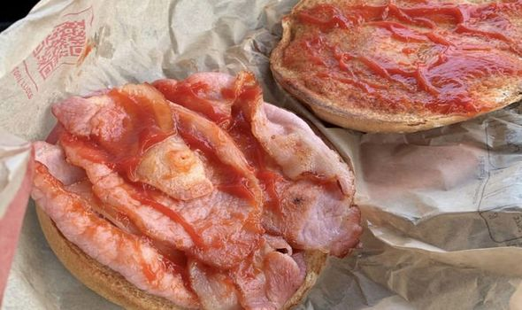 McDonald's customer disgusted after finding 'nipple' in bacon roll