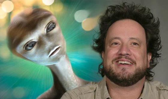 Alien news: Giorgio Tsoukalos UFO claim
