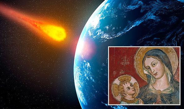 asteroid mother mary  Friday 13th APOCALYPSE WARNING: Asteroid flyby 'marks the return of Mother Mary' | Weird | News asteroid mother mary 862778
