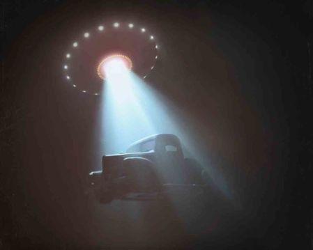 Um encontro próximo com extraterrestres