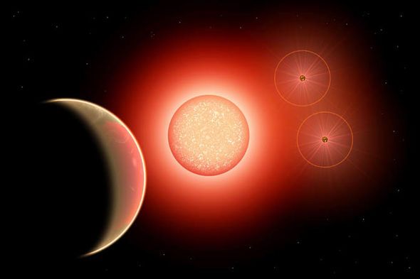 Nibiru: Planet X in space